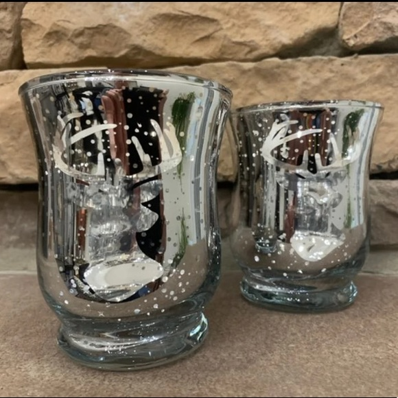 Other - 🎄 Reindeer Silver Christmas Votive Holders